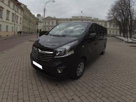 Naujų mikroautobusų nuoma su vairuotoju
