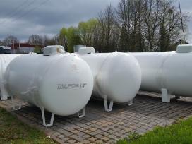 Suskystintų dujų (Lpg) talpos