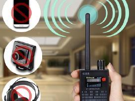 Šnipinėjimo įrangos blakių kamerų detektorius