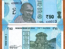 Indija 50 Rupees 2017m. P-new Unc