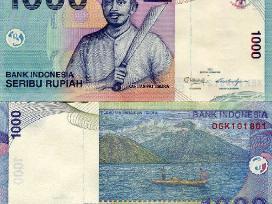Indonezija 1000 Rupiju 2009m. P141 Unc