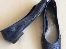 Odiniai tamsiai mėlyni bateliai, 37 dydis