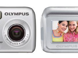 Olympus, Praktica, Canon 5mp fotoapratai