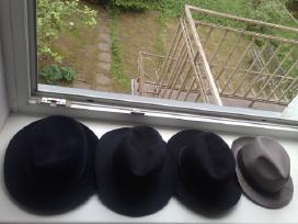 Senovinė vyriška kepurė skrybėlė