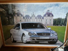 Sudėta ir įrėminta dėlionė Mercedes