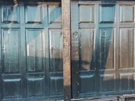 Medinės Garažo Durys, 2 Vnt.