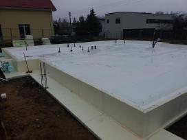 Pasyvių namų statyba,plokštuminiai pamatai. - nuotraukos Nr. 10