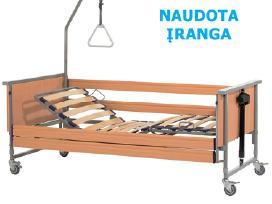 Elektrinė funkcinė slaugos lova, su garantija