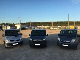 Mikroautobusu nuoma, Opel Vivaro nuoma