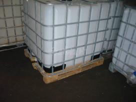 Bakeliai, backos, kanistrai, ibc, konteineriai