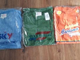 Marškinėliai vyriški, Xl ir Xxl dydžio, nauji