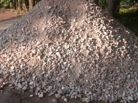 Skalda,betono skalda,skalda keliui,žvyras,smėlis