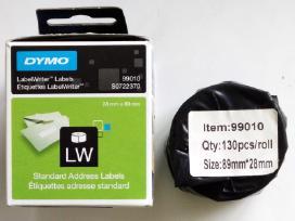 Dymo lipdukai Label Writer 99010, 11354 ir kt