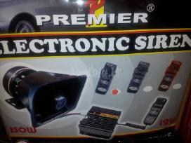 Sirenos signalai. policijos