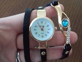 Moteriskas laikrodis-apyranke