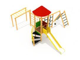 Vaikų žaidimo aikštelės, sūpynės, laipynės ir kt.