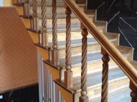 Parketo slifavimas-mediniu laiptu restauravimas - nuotraukos Nr. 8