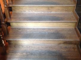 Parketo slifavimas-mediniu laiptu restauravimas - nuotraukos Nr. 10
