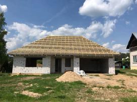 Stogų dengimas, senų namų renovacija - nuotraukos Nr. 20
