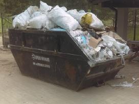 Griovimo darbai - konteinerio nuoma Vilniuje!