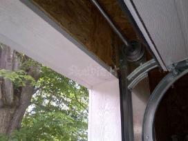 Garažo vartai pakeliami segmentiniai apšiltinti - nuotraukos Nr. 2