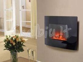 Elektriniai židiniai puošmena ir šiluma jūsų namui