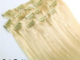 Nauji naturalus plauku tresai 100gr. 53cm