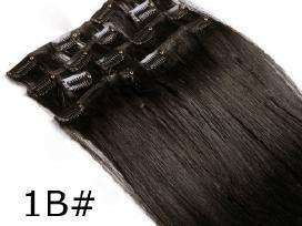 Nauji naturalus plauku tresai 70gr. 50cm