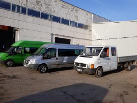Mikroautobusų nuomos ir pervežimo paslaugos Lt