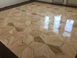 Medinių grindų, parketo šlifavimas, atnaujinimas
