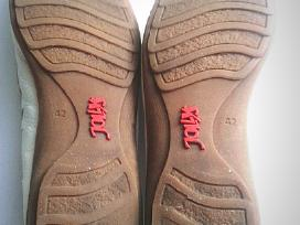 Natūralios odos sandalai - nuotraukos Nr. 4
