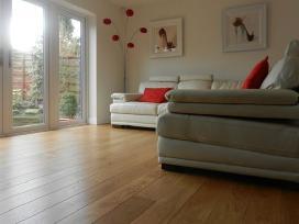 Plačios ąžuolo masyvo grindys - grindlentės - nuotraukos Nr. 7