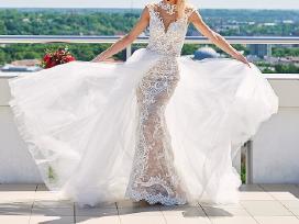 Nuostabi dviejų dalių vestuvinė suknelė - nuotraukos Nr. 5