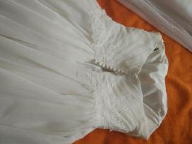 Balta vestuvinė suknelė - nuotraukos Nr. 2