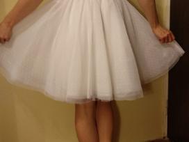 Balta vestuvinė suknelė - nuotraukos Nr. 3