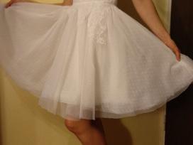 Balta vestuvinė suknelė - nuotraukos Nr. 4