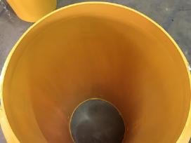 Surenk. šiukšlių latakai gelt. Hdpe Profil - nuotraukos Nr. 4