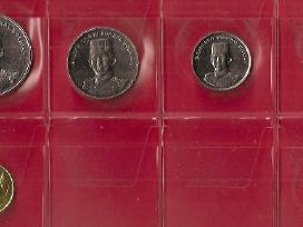 Brunejus 5 monetų rinkinukas Unc