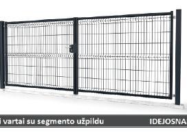 Tvoros segmentai, stulpai, vartai, varteliai ir kt - nuotraukos Nr. 5