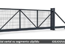 Tvoros segmentai, stulpai, vartai, varteliai ir kt - nuotraukos Nr. 7