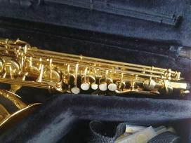 Saksofonas yamaha su meyer arba selmer pustuku