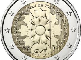Prancūzija 2 euro monetos Unc