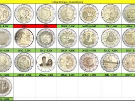 Liuksemburgas 2 euro monetos Unc - nuotraukos Nr. 2