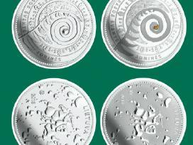 1,50 Eur moneta, skirta Joninėms (Rasos šventei)
