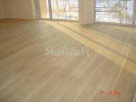 Medinės grindys.medinių grindų klojimas,šlifavimas