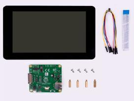 "Oficialus Raspberry Pi 7"" ekranas su rėmeliu"