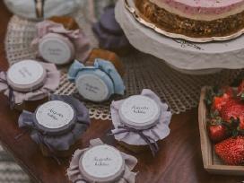 Padėkos dovanėlės vestuvių svečiams