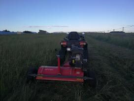 Apleistų sklypų tvarkymas, vejos aeravimas