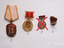 Sovietinis ordinas, medalis, ženkliukai