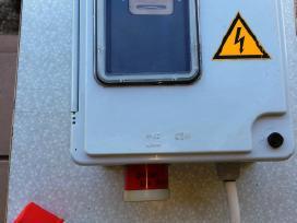 Elektros skaitiklis dėžės atlikti vietinį elektro